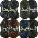 Strumpfwolle 4-fädig comfort 1114b