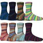 Comfort Sockenwolle 4-fädig Sort.1115-Herbstabend