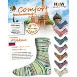 Sockenwolle Comfort 4fädig Sortiment 215 Moskau
