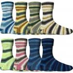 Comfort Sockenwolle Bluetenwiese 116