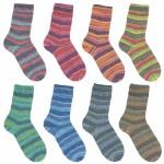 Austermann Step Flower Rainbow Sockenwolle 4fädig