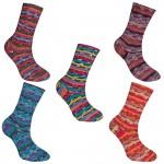 Rellana Flotte Socke Magic Sockenwolle 4-fädig und 8-fädig