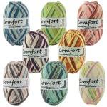 Comfort Cotton Stretch 416 Sockenwolle mit Baumwolle