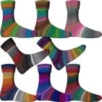 Comfort Sockenwolle 8-fach Morgennebel