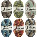 Lang Yarns Soper Soxx Sockenwolle mit Baumwolle