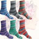 ONline Supersocke Silk Color Sockenwolle mit Seide 4fädig