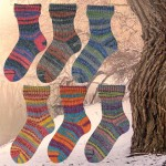 Opal Winterzauber Sockenwolle 8Fädig