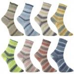 Pro Lana Alicante 6 Sockenwolle mit Baumwolle Stretch