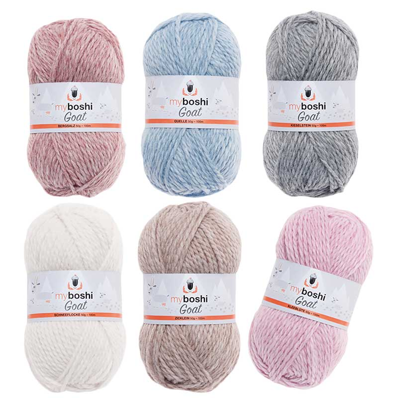 Myboshi Mütze Häkeln Sockenwolle Blog