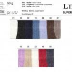 ONline Supersocke Silk uni Farbkarte