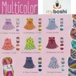 Myboshi multicolor Kombinationsvorschläge